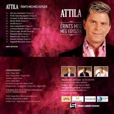 Attila - Érints meg még egyszer - Album